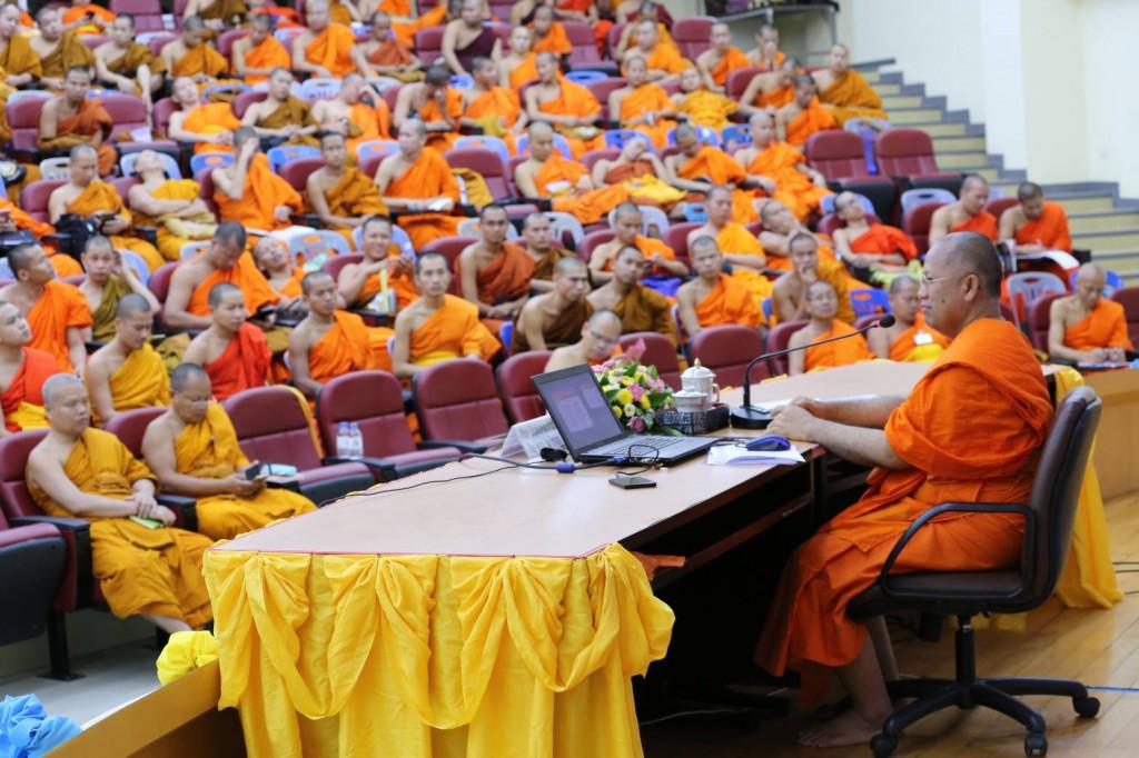 600717 รอง ฝ่ายต่างประเทศ นำประชุมนิสิตต่างประเทศ มจร ครั้งที่ 1ปี 60 3