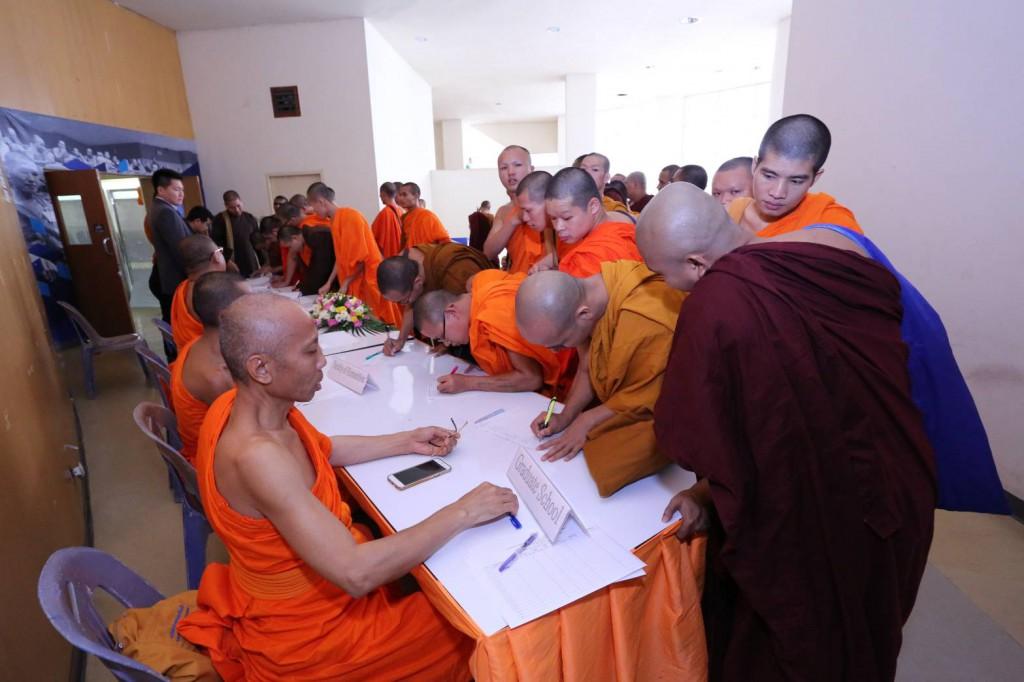600717 รอง ฝ่ายต่างประเทศ นำประชุมนิสิตต่างประเทศ มจร ครั้งที่ 1ปี 60 6