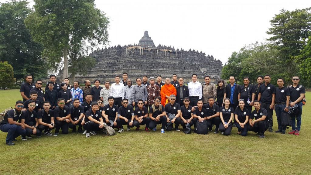 600722 รอง กต รมต วัฒนธรรม หารือสวดมนต์ข้ามวัดพุทธโลก อินโดนิเซีย2