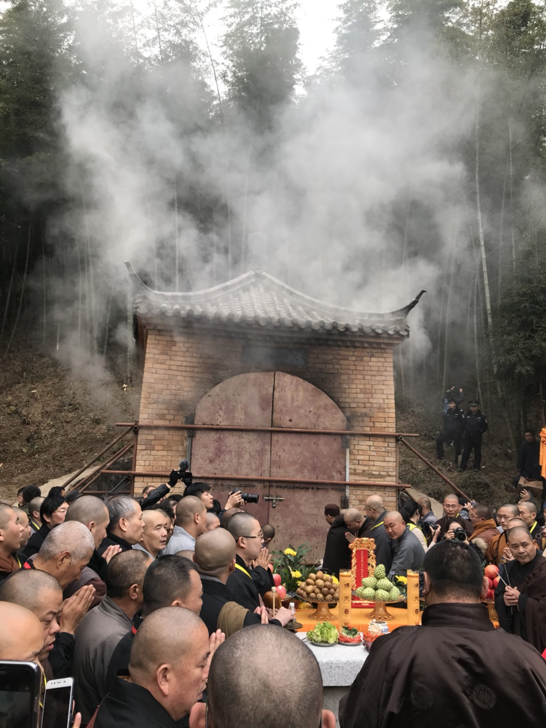 601227 รอง กต ไปงานศพ Most Ven Dr. Yi Cheng China 13