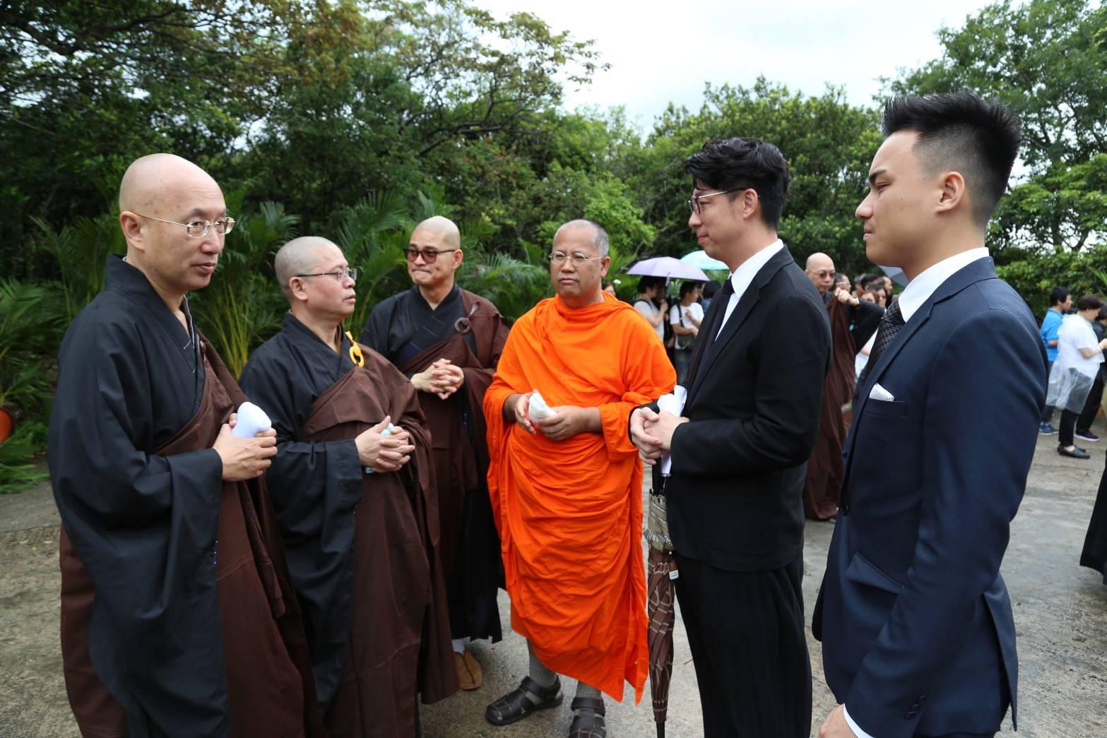 610713 รอง กต ร่วมงานศพVen.Dr. Sik Kin Chiu, จีนฮ่องกง 12