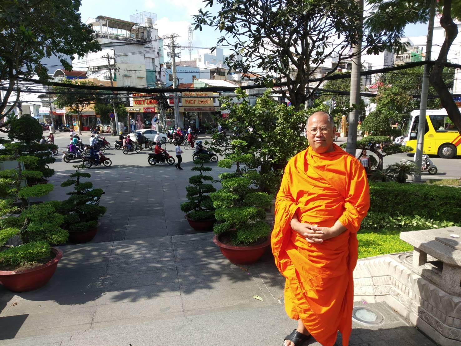 มจร เยี่ยมชมวัดเมืองโฮจิมินห์ เวียดนาม 1