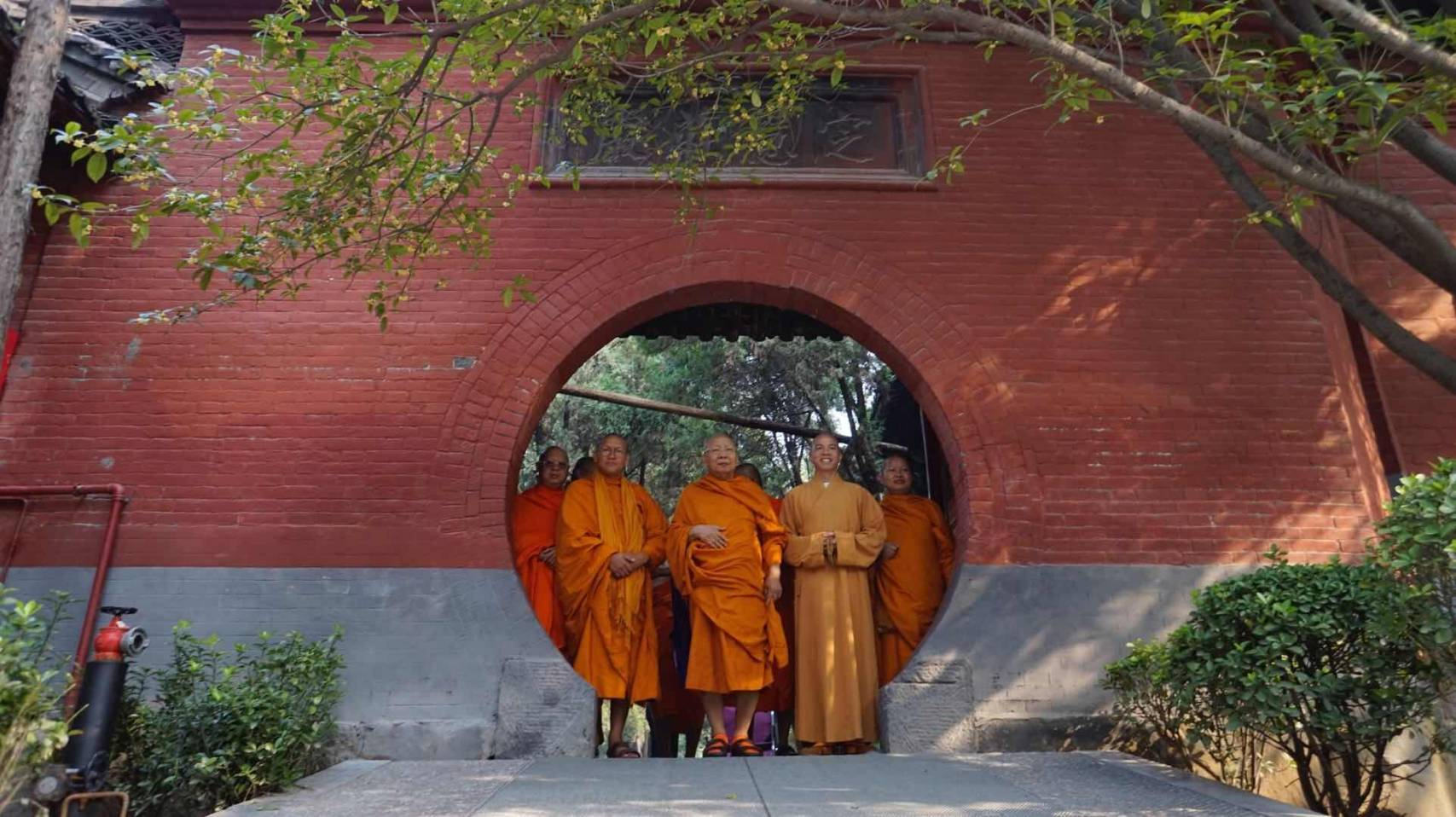 610924-27 พระพรหมวชิรญาณประธานพิธีสมโภชวัดเหมอัศวาราม จีน 14