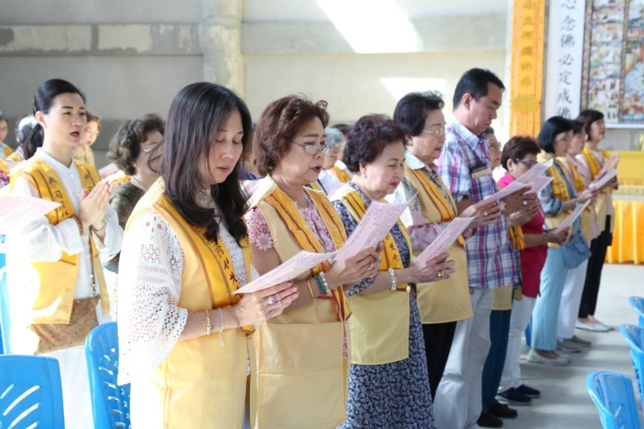 611106 รอง กต ร่วมพิธีอัญเชิญพระประธาน วัดโฝวกวงซัน คู้บอน 10