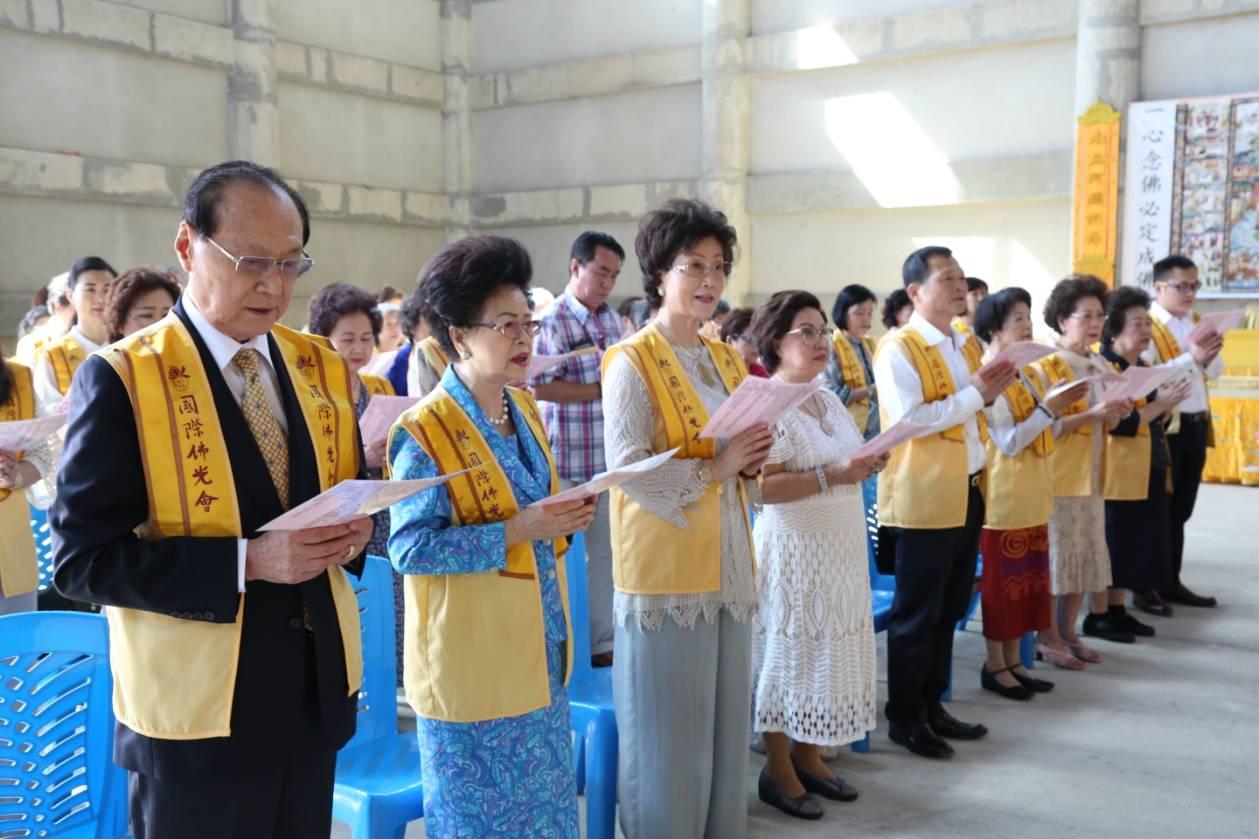 611106 รอง กต ร่วมพิธีอัญเชิญพระประธาน วัดโฝวกวงซัน คู้บอน 11