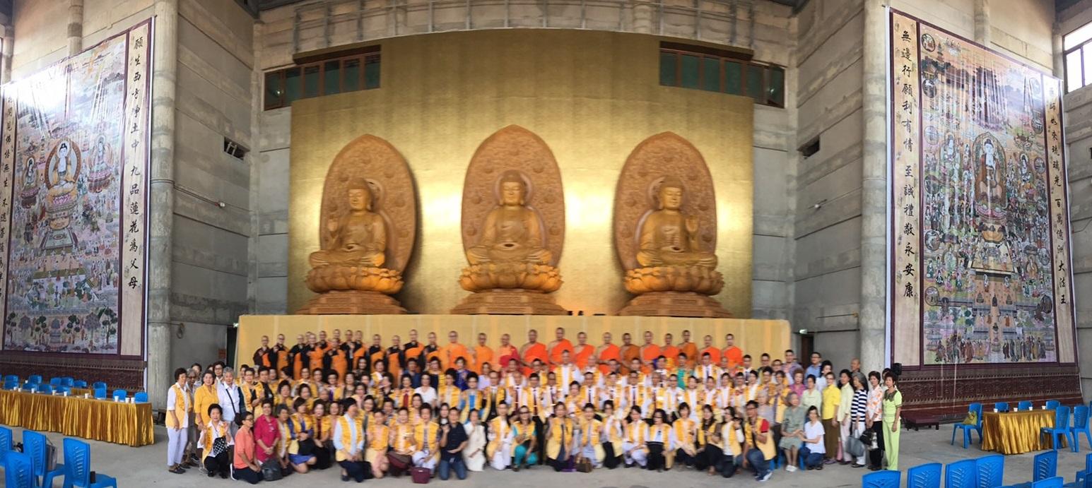 611106 รอง กต ร่วมพิธีอัญเชิญพระประธาน วัดโฝวกวงซัน คู้บอน 16