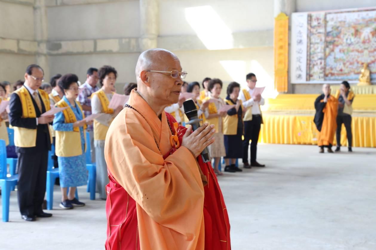 611106 รอง กต ร่วมพิธีอัญเชิญพระประธาน วัดโฝวกวงซัน คู้บอน 7