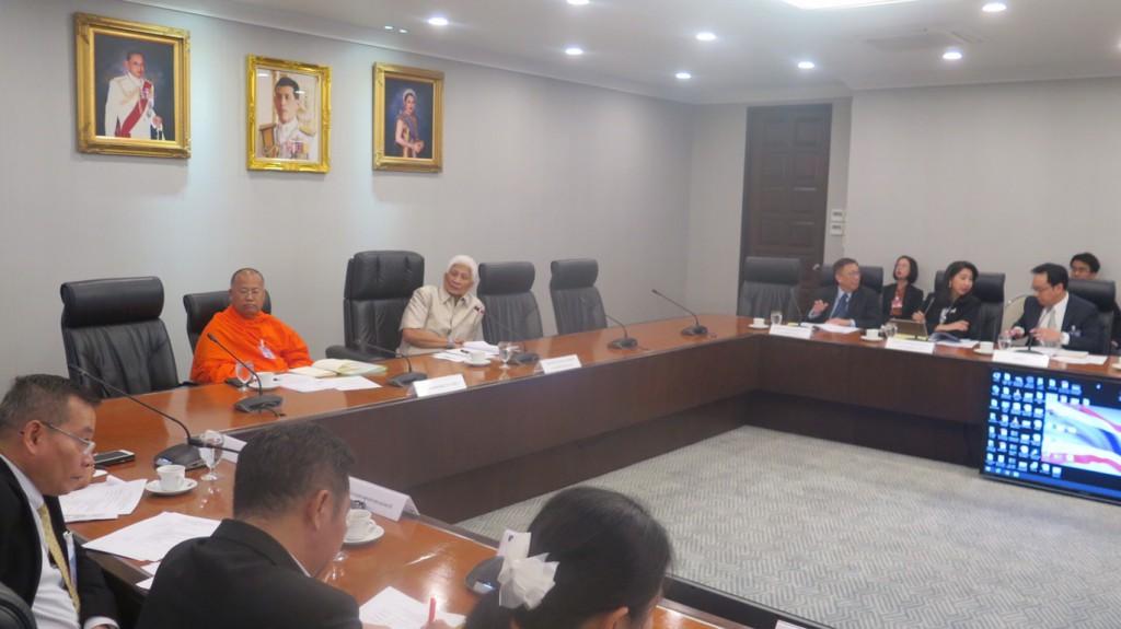 620109 รอง กต นายสุวพันธ์ ประชุมคณะกรรมการรับมอบหน่อต้นพระศรีมหาโพธิ์ ทำเนียบรัฐบาล 8