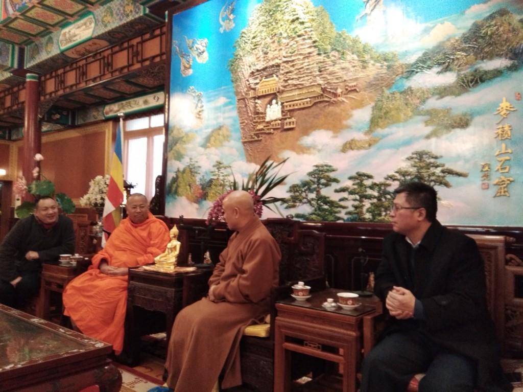 620114 รอง กต ประชุมร่วมกับรักษาการประธานพุทธสมาคมจีน ปักกิ่ง 2
